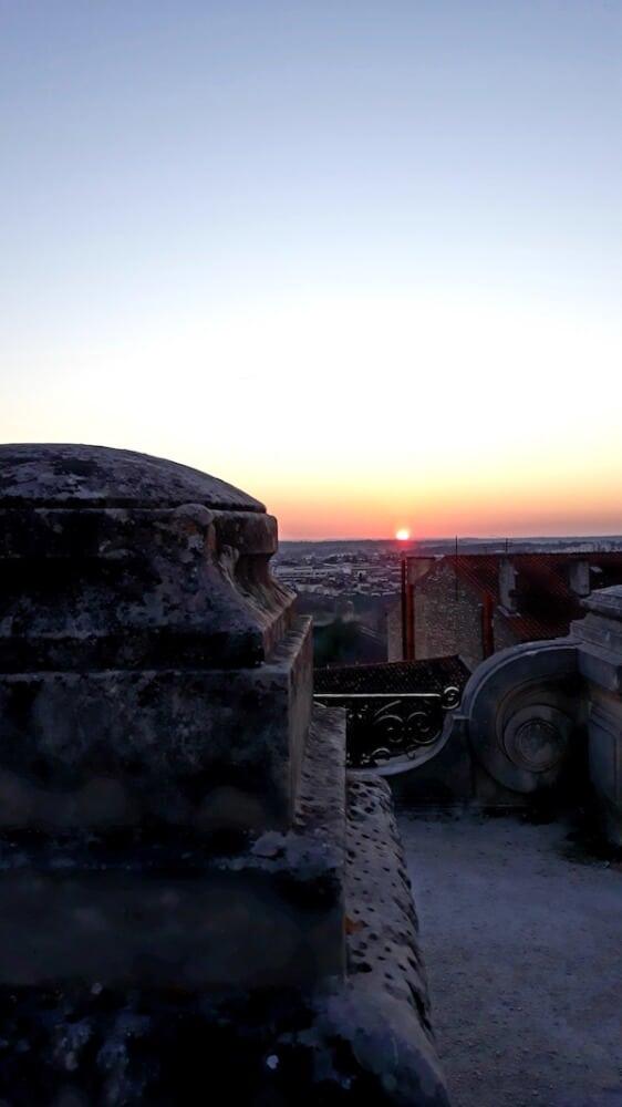 Angouleme zonsondergang