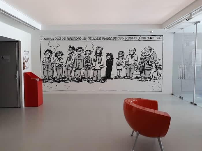 Leeg museum angouleme