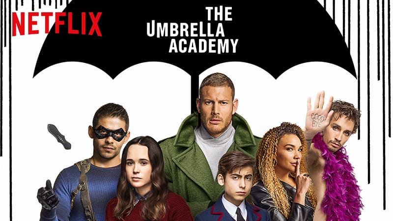 Netflix | The Umbrella Academy