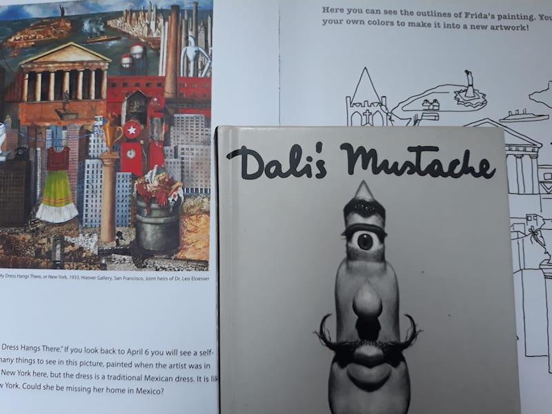kinderboeken over kunst