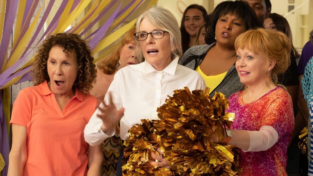 POMS op dvd | Bitterzoete komedie met Diane Keaton