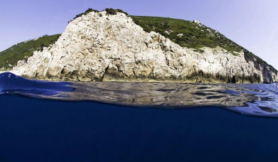 eiland albanië