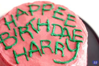 harry potter verjaardagstaart