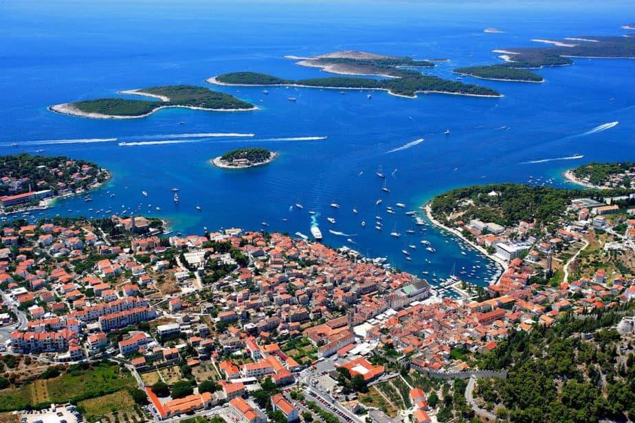 12 mooiste eilanden in Europa in de Middellandse zee