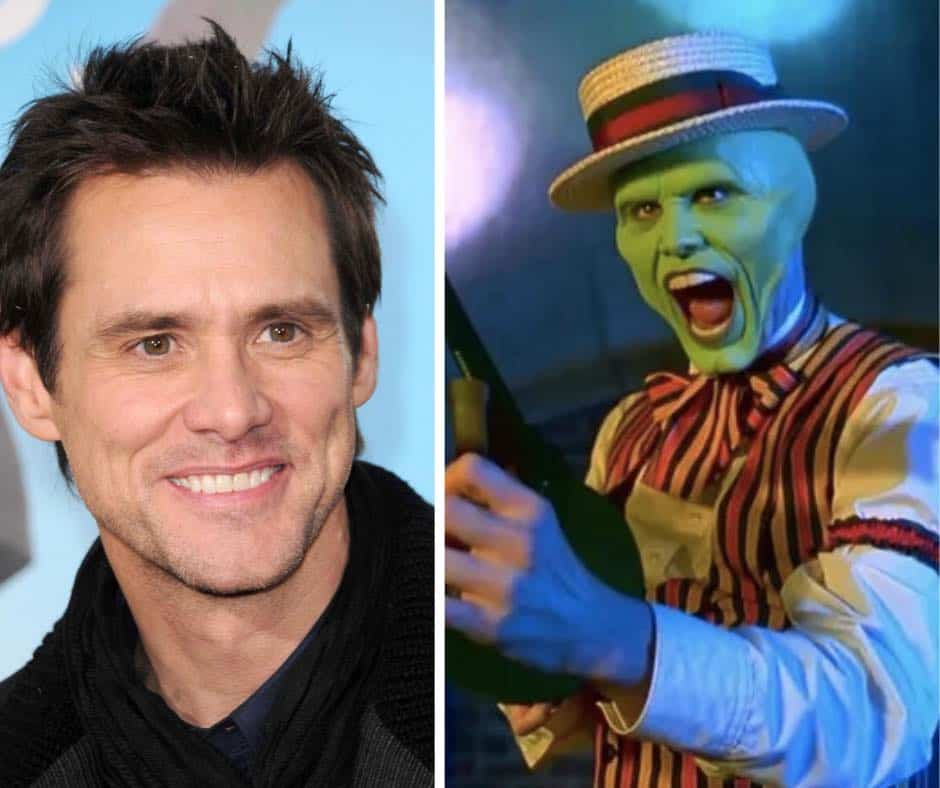 jim carrey goes green