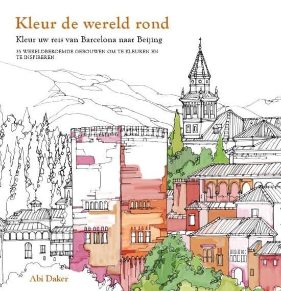 kleurboeken volwassenen reizen