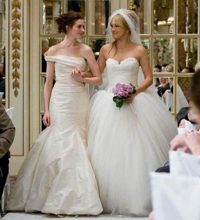 Bride wars trouwjurken