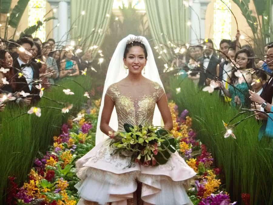 trouwjurk Crazy Rich Asians