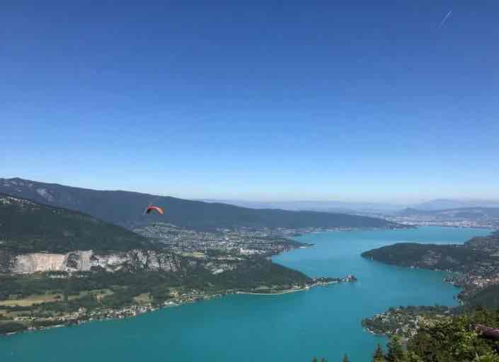 camping meer annecy