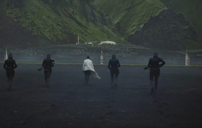 Rogue one IJsland