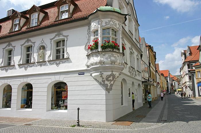 Mooie stad in Beieren