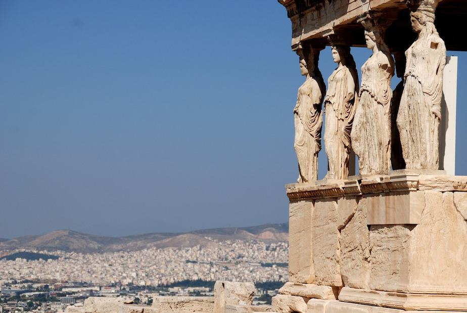 Athene vakantie