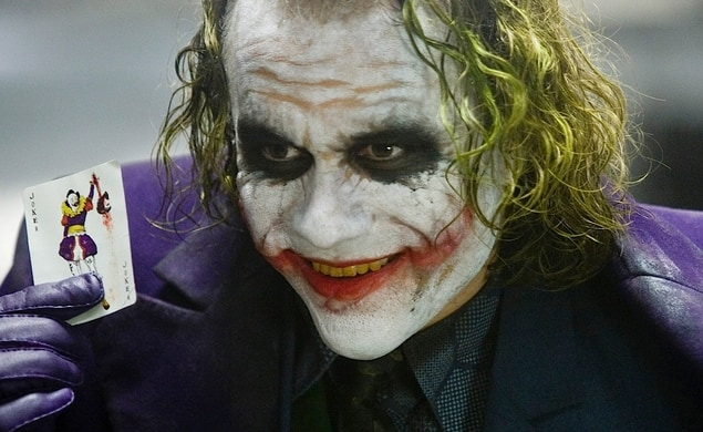 Heath Ledger als Joker