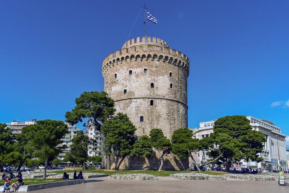 Thessaloniki Griekenland