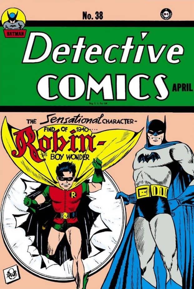 Batman ontstaan DC