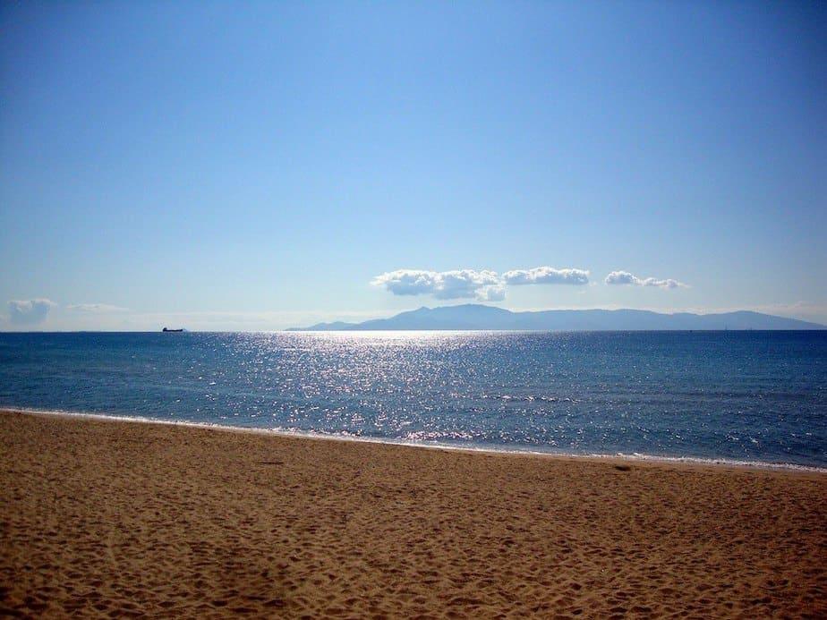 Naar het strand Griekenland