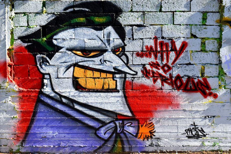 Griekse vasteland streetart
