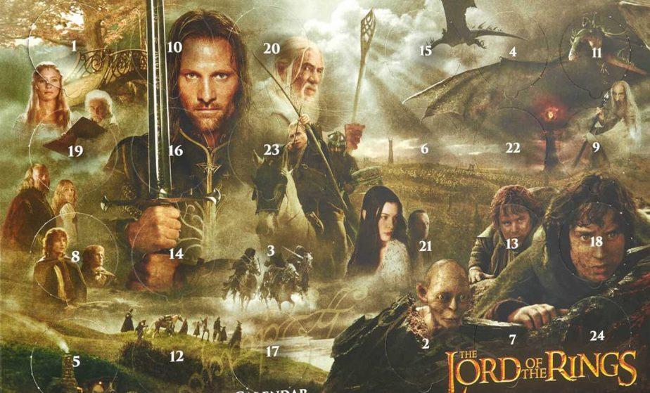 Lord of the Rings adventskalender