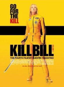 kill bill gele filmposter