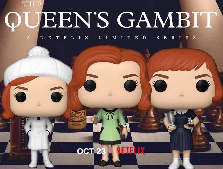 queen's gambit funko pop