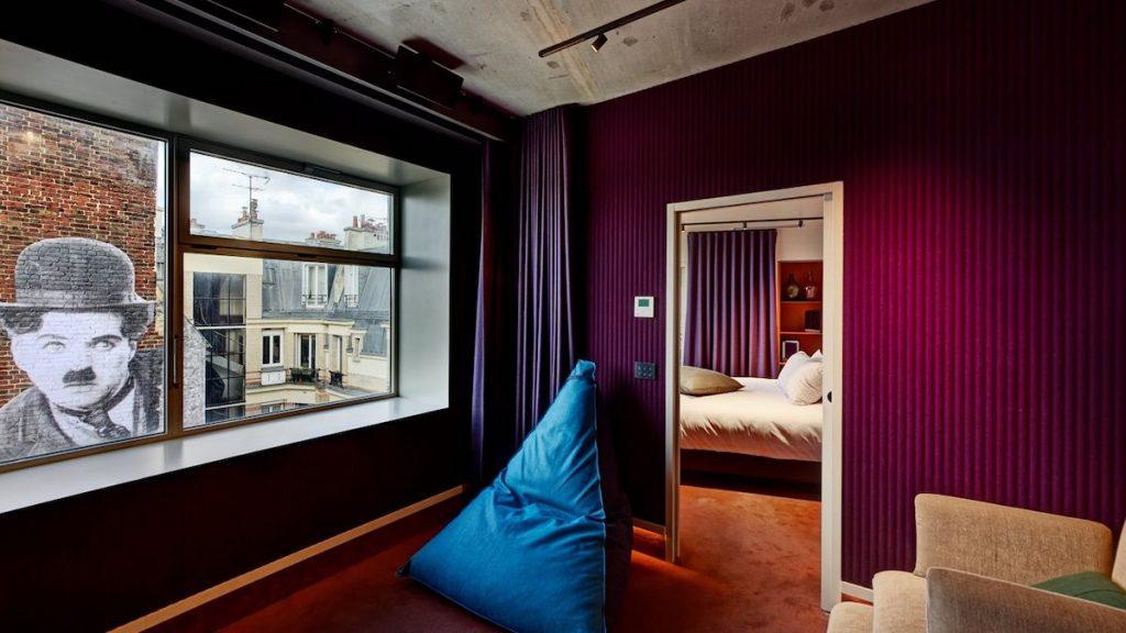 Paradiso hotel in Parijs