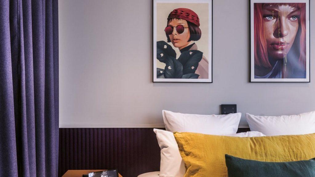 bioscoop hotel in Parijs