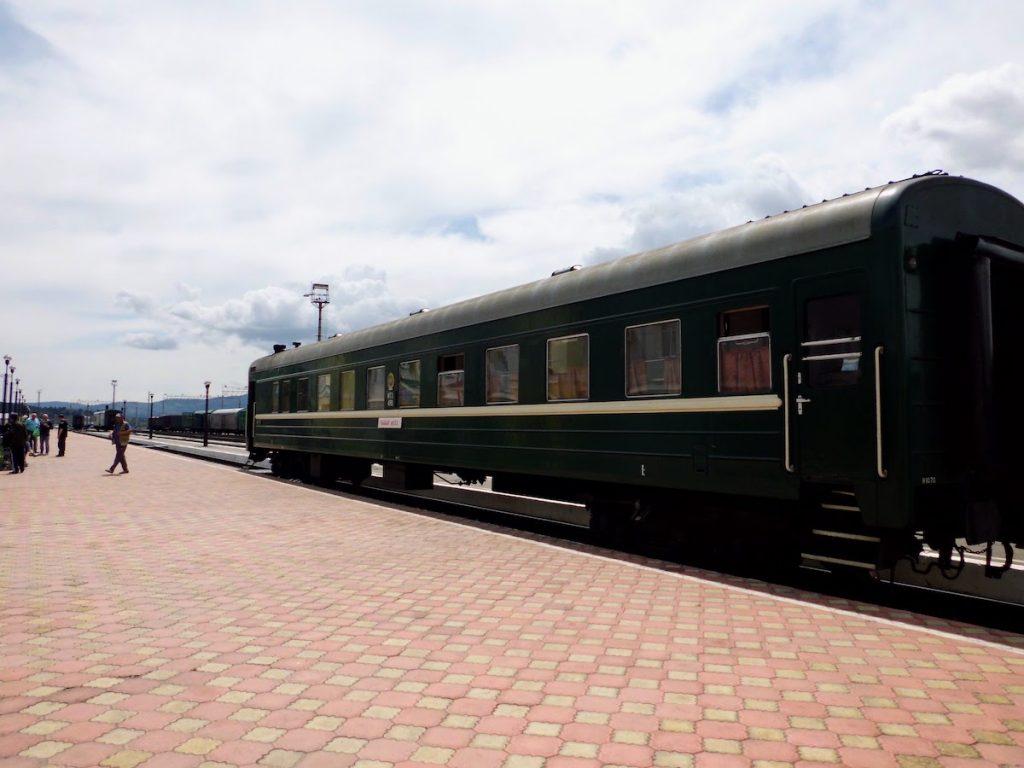 Transmongolië Express van Moskou naar Beijing