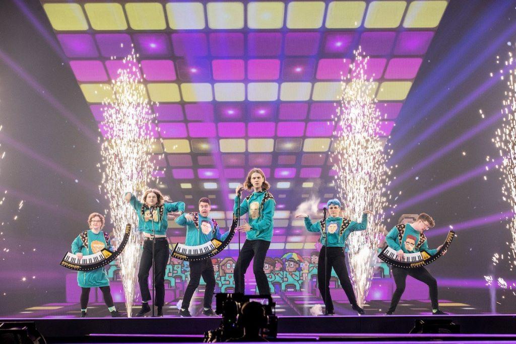 IJsland halve finale Eurovisie