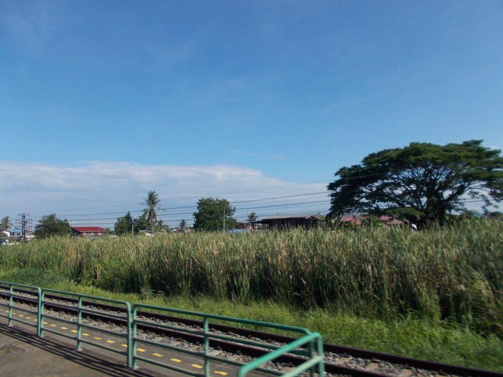 trein in Thailand