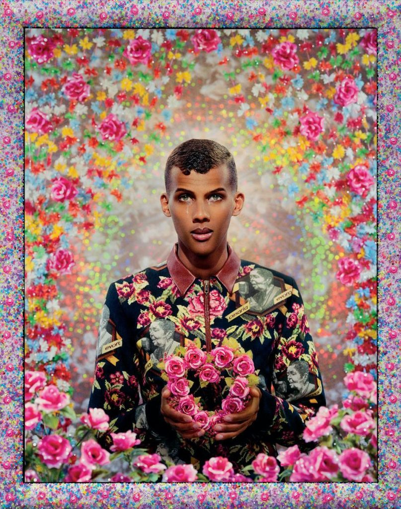 Stromae tentoonstelling icons