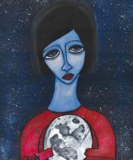Kunstenares uit Gaza