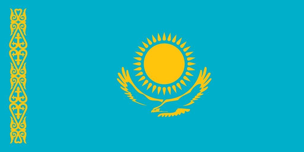 Vrolijke kleuren vlag