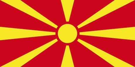 Noord-Macedonië vlag