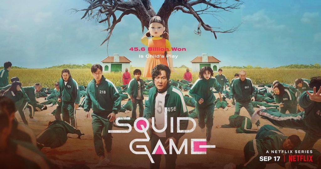 moordspel films en series Squid Game